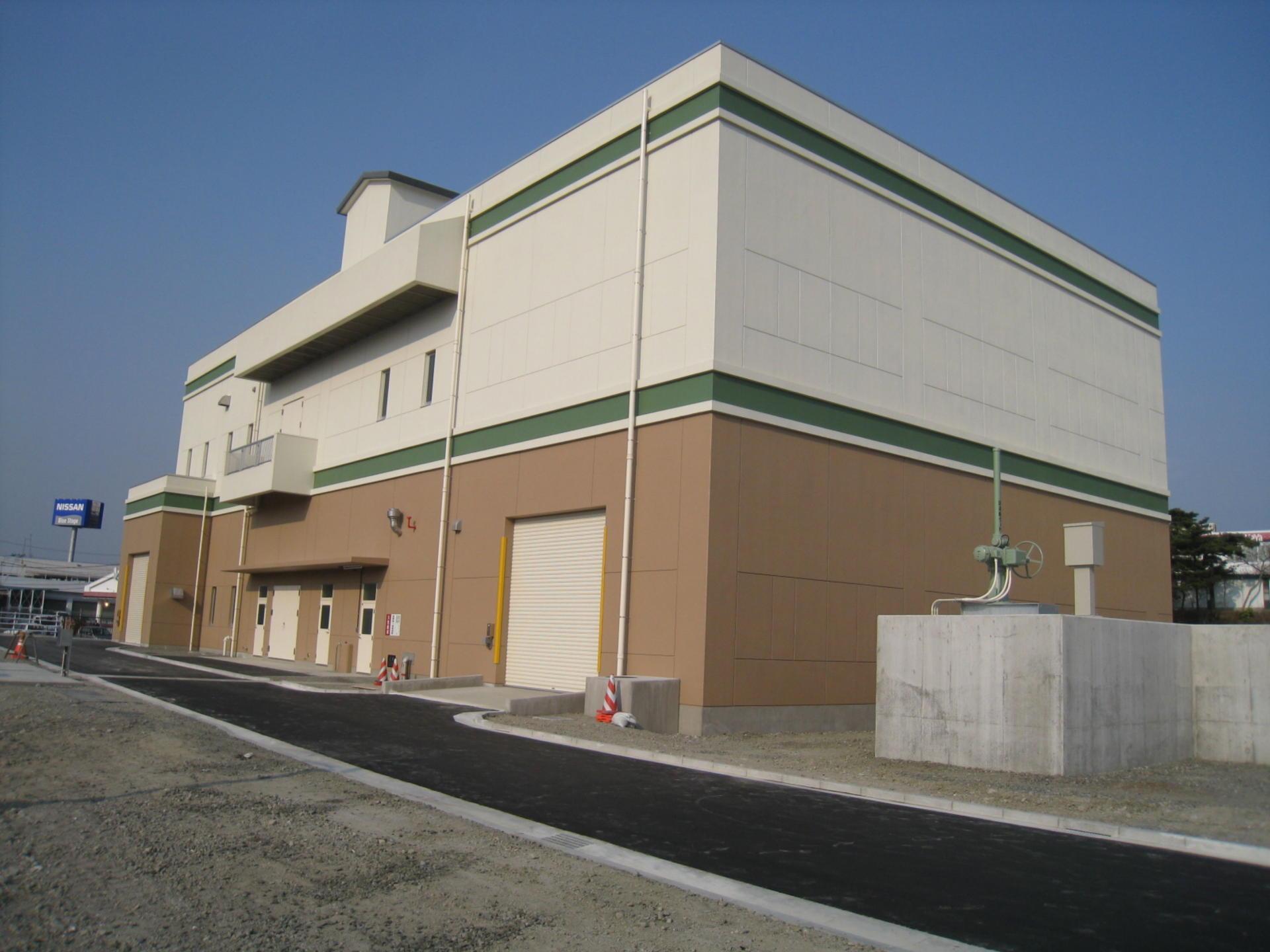 藤倉雨水ポンプ場(建築)築造工事(塩竈市発注)