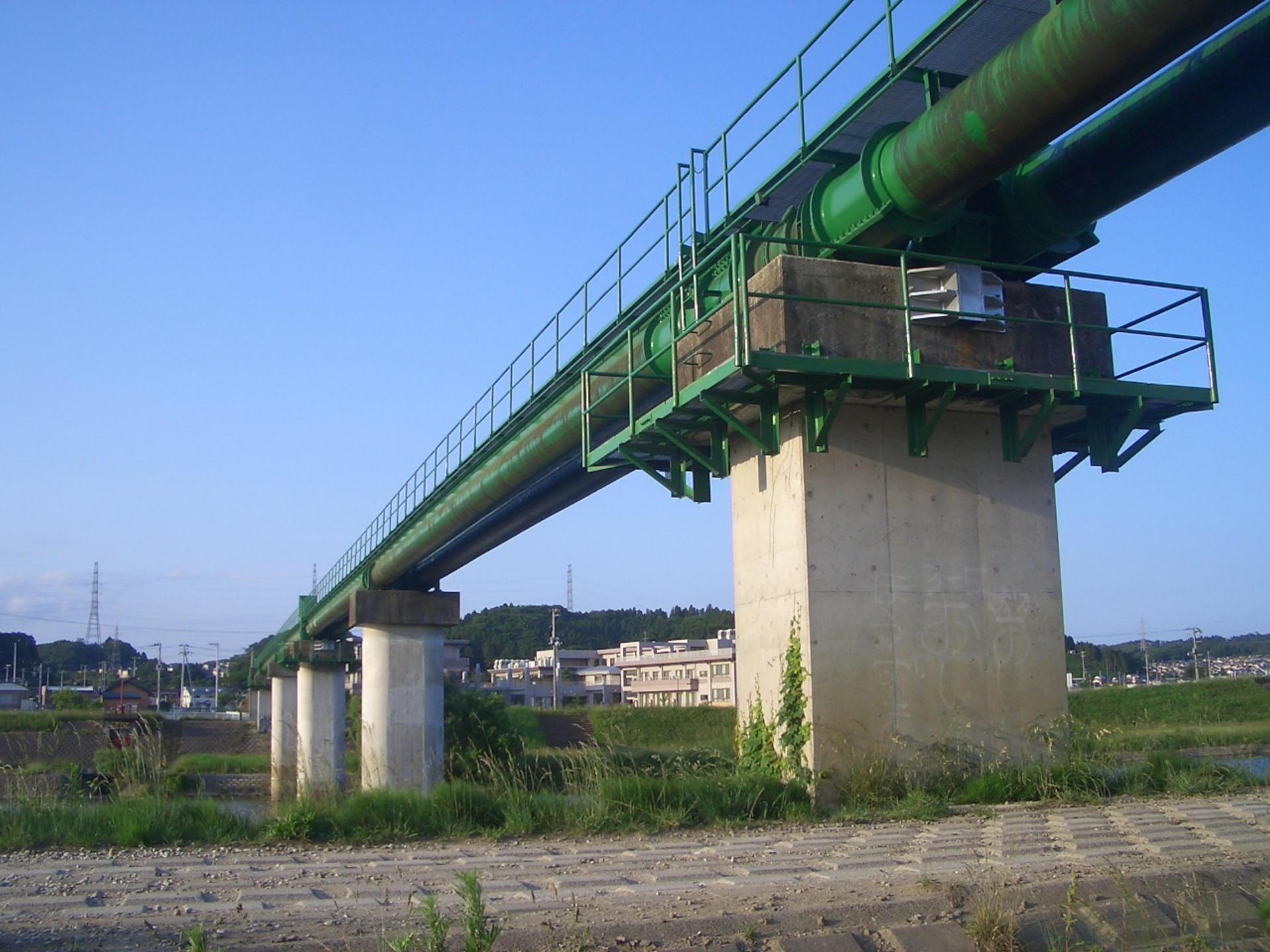 松森水管橋