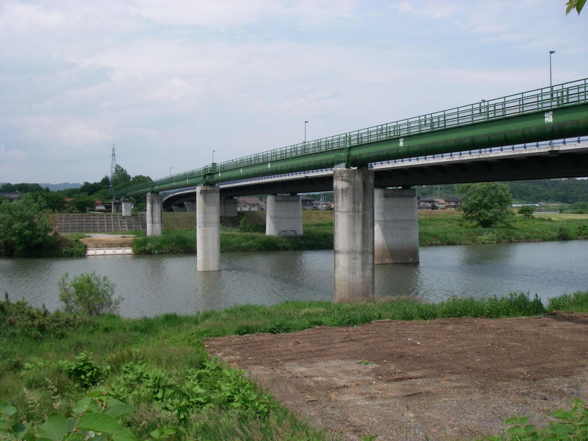 船岡水管橋