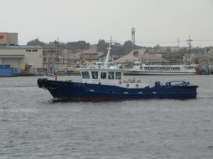 鹿島埠頭㈱殿 鋼製12トン型作業船兼交通船建造工事 「いきす」